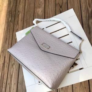 Authentic Kate spade Ostrich leather shoulder bag